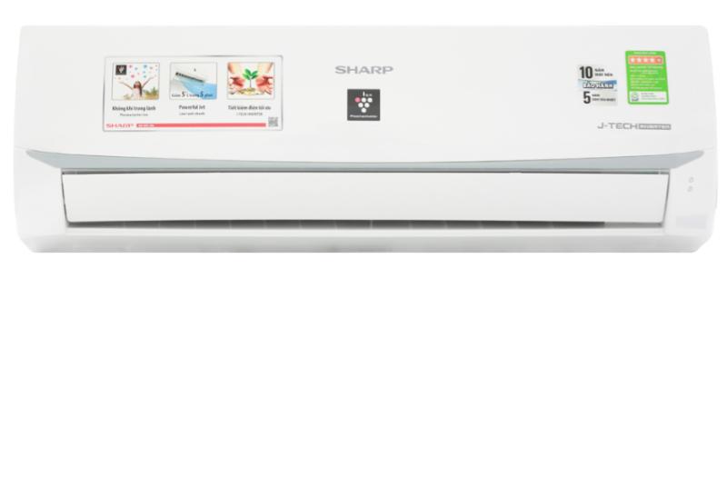 Bảng giá Máy lạnh Sharp Inverter 1 HP AH-XP10WMW
