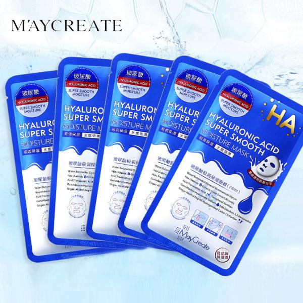TAMIKO - Combo 5 mặt nạ HA Maycreate dưỡng ẩm mặt nạ giấy nội địa Trung mặt nạ dưỡng trắng TM-MA284