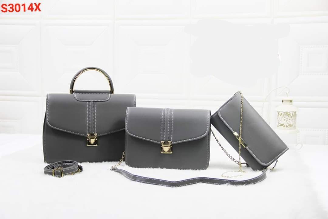 Bộ 3 Túi Xách Thời Trang cao cấp - bộ 3 túi xách nữ thời trang cao cấp - bộ túi xách