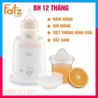 NEW Máy hâm sữa Fatz 4 chức năng Hâm nóng giữ nóng tiệt trùng bình sữa vắt camFatz baby Hàn Quốc thumbnail