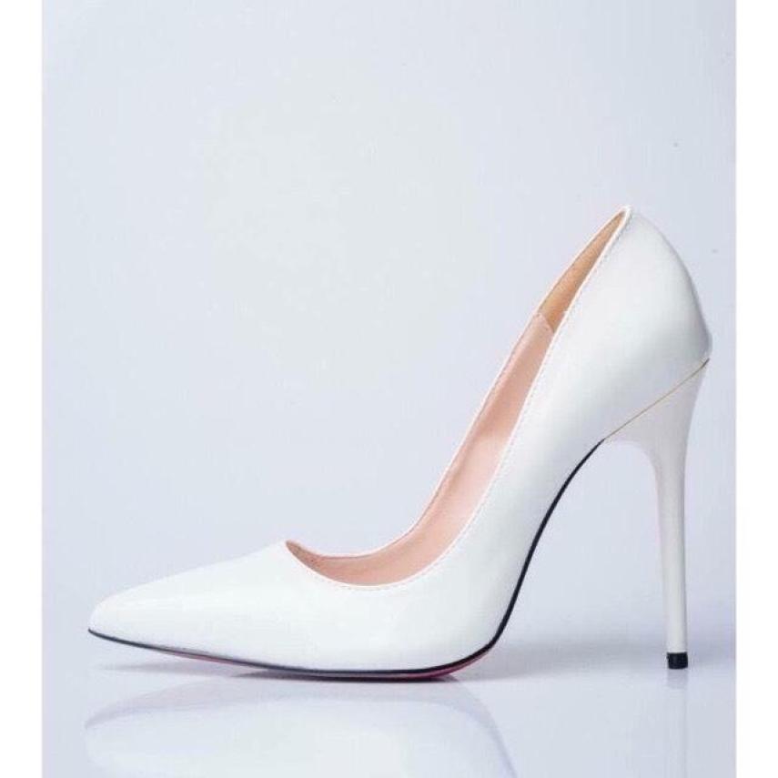 Giày cao gót nữ 8 phân công sở da mềm đi êm chân hot 2020 ( hàng có sẵn ) giá rẻ