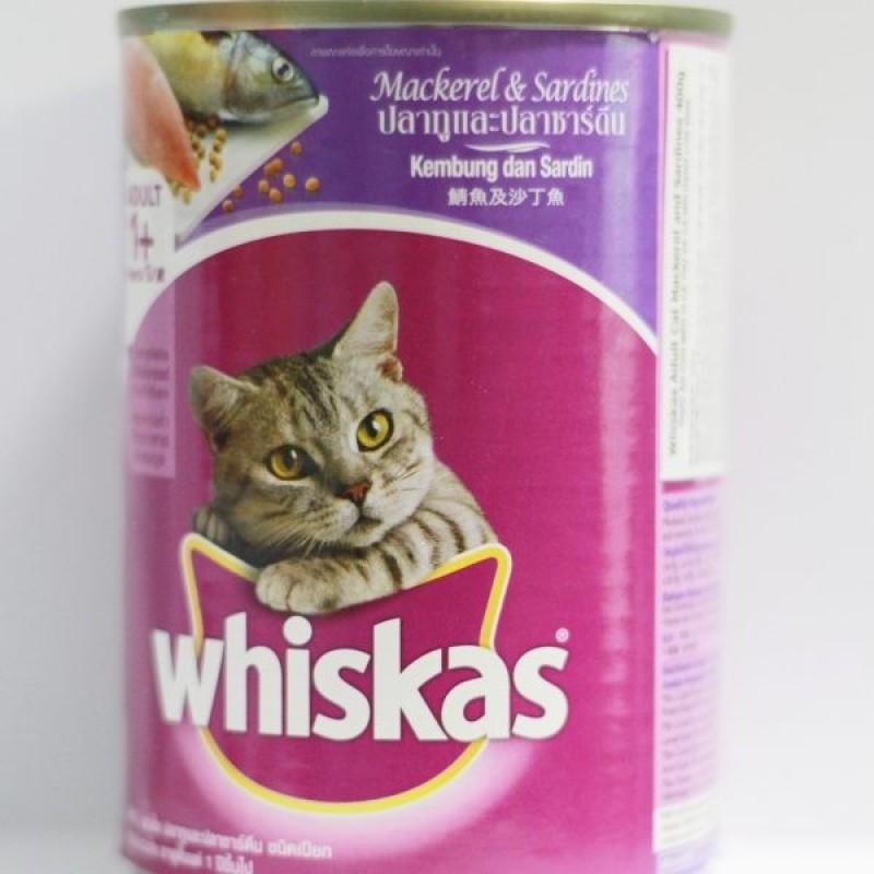 Pate lon cho Mèo Whiskas 400g