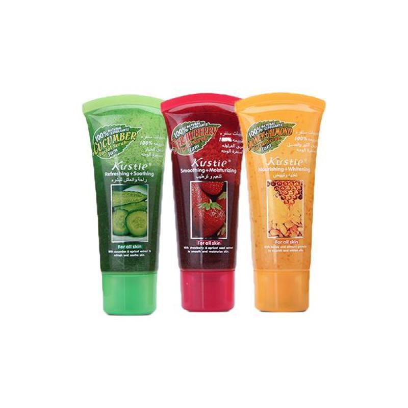Combo 3 Kem Massage Tẩy Tế Bào Chết Da Mặt KUSTIE 40ml x3 ( Mix Đủ Hương ) nhập khẩu