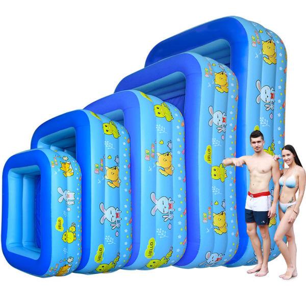 Bể bơi phao người lớn, Bé tắm bể bơi, Bể bơi bơm hơi cỡ lớn tặng kèm bơm - Thành cao chất liệu nhựa dày dặn đàn hồi tốt , Thiết kế 3 tầng chịu lực tốt , Dễ dàng gấp gọn khi không sử dụng.