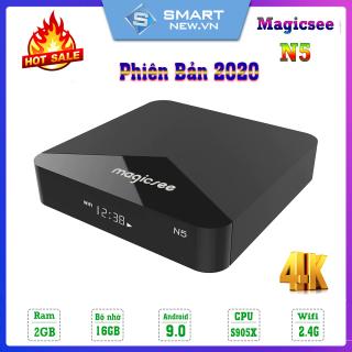 [Nhập ELMAY21 giảm 10% tối đa 200k đơn từ 99k]Android Tivi Box Magicee N5 - Ram 2GB Rom 16GB Single Wifi - Hỗ Trợ Tìm Kiếm Bằng Giọng Nói thumbnail