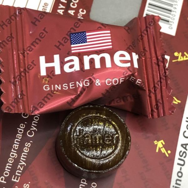 Kẹo sâm Hamer  Mỹ  thanh 7 viên - Nhập khẩu USA cao cấp