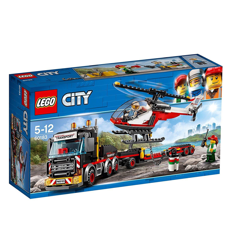 Deal Khuyến Mãi Bộ Lắp Ráp Đầu Kéo Container - LEGO City 60183 (310 Chi Tiết)