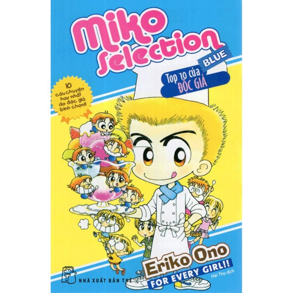 Sách - Miko selection - Blue