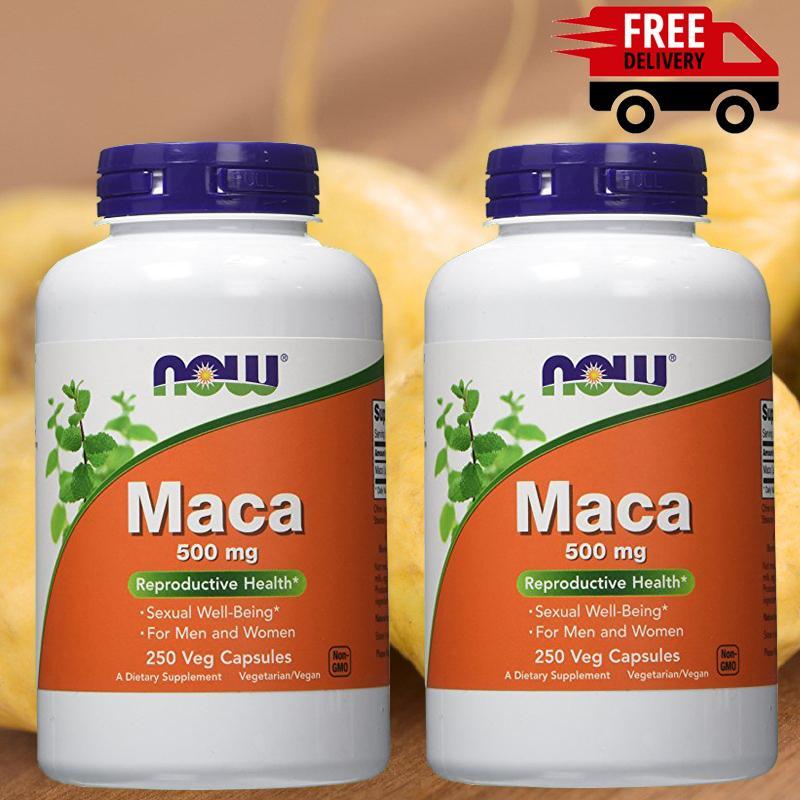 Bộ 2 sâm MACA tăng cường sức khỏe sinh lý nam nữ 250 viên chính hãng