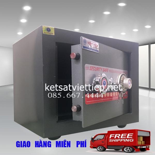 Két Sắt Việt Tiệp KV25N Chống Cháy-C40*R45*S33cm-40kg- Công ty két sắt Việt Tiệp uy tín
