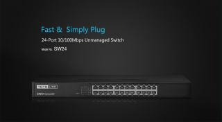 SW24 - Switch 24 cổng tốc độ 10/100Mbps