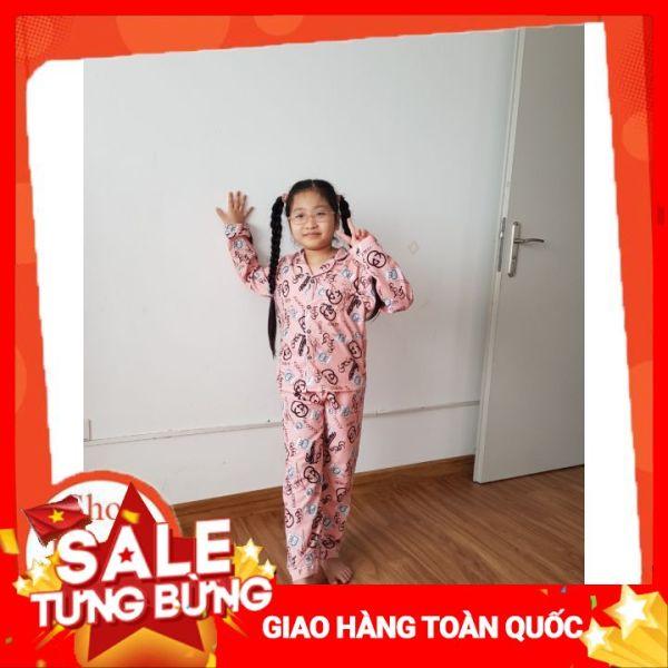 Giá bán Bộ Pajama Áo Tay Dài Quần Dài Chất Mềm Mịn Dành Cho Bé