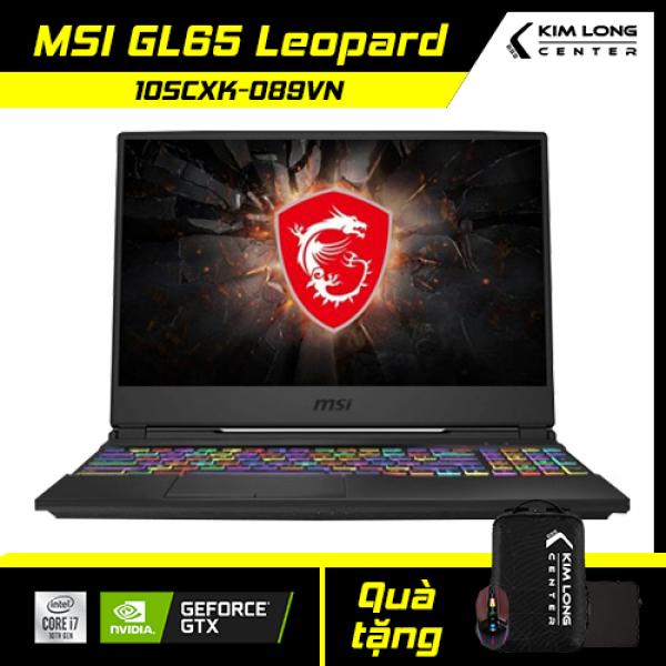 Bảng giá [XÃ HÀNG CUỐI NĂM - GIẢM NGAY 1 TRIỆU] Laptop MSI GL65 Leopard 10SCXK-089VN : i7-10750H   8GB RAM   512GB SSD   GTX 1650 4GB + UHD Graphics 630   15.6 FHD 144Hz   Win 10 Phong Vũ