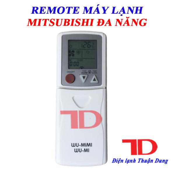 Remote máy lạnh Mitsubishi đa năng sử dụng cho tất cả các máy lạnh hiệu Mitsubishi Electric và Heavy