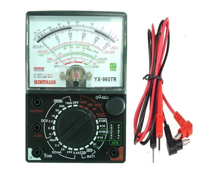 Đồng Hồ Đo Kim VOM YX-960TR kèm pin loại tốt