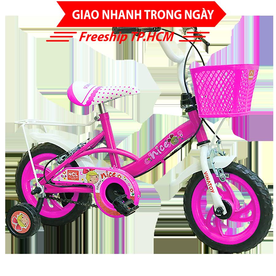 Mua Xe đạp trẻ em Nhựa Chợ Lớn 14 inch K104 - M1799-X2B