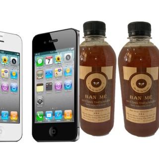 1 LÍT Mật Ong hoa Cà phê Nguyên Chất ĐẶC BIỆT - TẶNG 1 Điện thoại IP4S Cao Cấp thumbnail