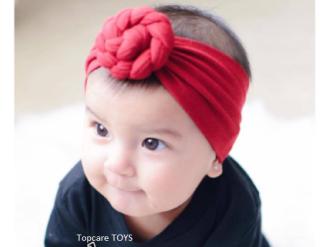 Băng đô, turban vải mềm dễ thương cho bé thumbnail
