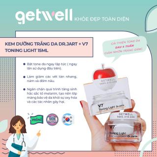 [MINI] Kem dưỡng trắng da và ngừa thâm nám V7 Toning Light Dr.Jart+ 15ml thumbnail