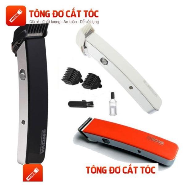 Tông đơ Nova NS-216 cầm tay cao cấp, cắt tóc không tiếng ồn dành cho người lớn và trẻ em có thể điều chỉnh độ dài từ 1-9mm