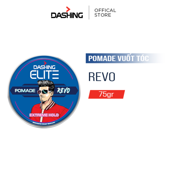 Sáp vuốt tóc Dashing Revo 75g nhập khẩu
