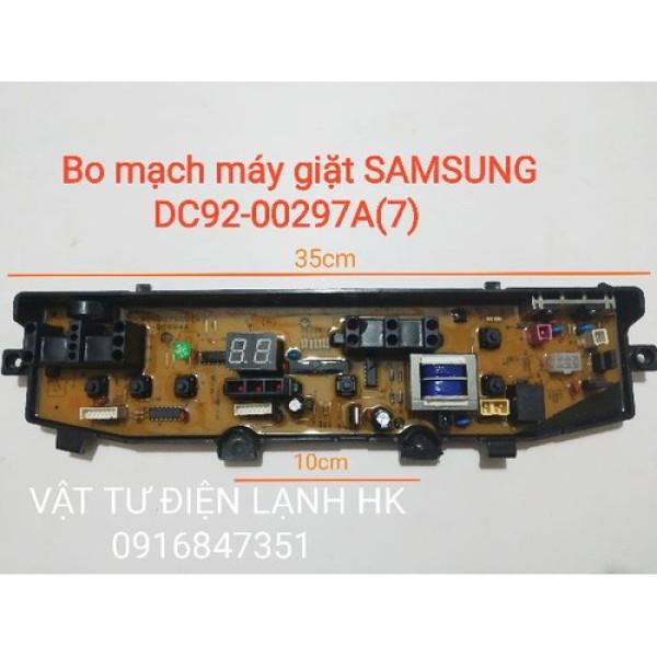Bo mạch máy giặt Samsung DC92-00297A - Board 297A - mạch 297A có biến thế, không biến thế