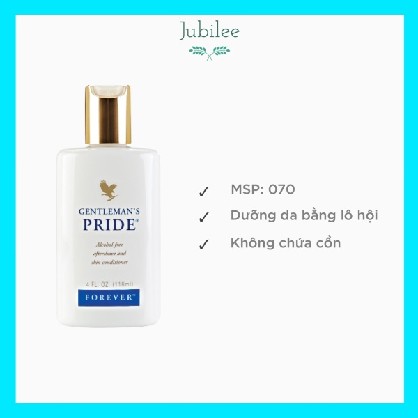 Kem dưỡng da sau khi cạo râu Gentlemen's Pride Forever Living Products 070FLP 118ml Jubilee giá rẻ