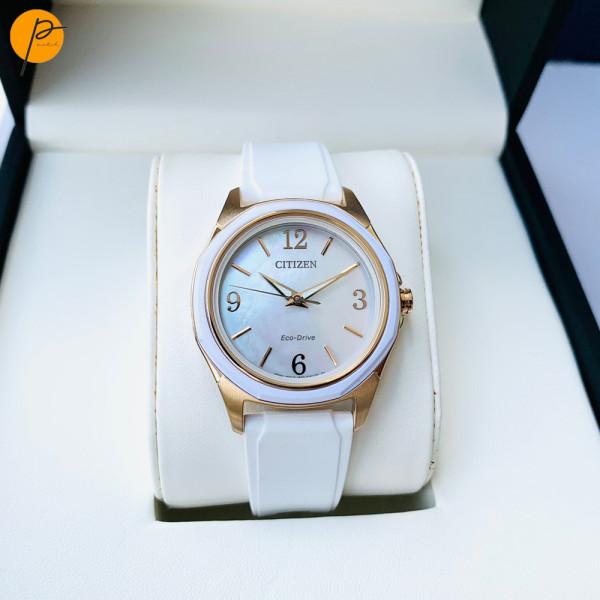 Đồng hồ nữ citizen White Womens FE7056 Cá tính năng động