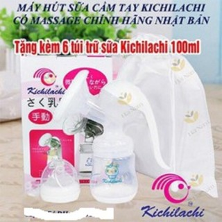 Máy hút sữa Kichilachi tặng kèm 6 túi chứa sữa thumbnail
