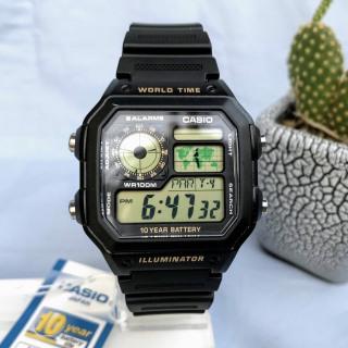Đồng hồ nam Casio AE-1200WH-1BVDF thumbnail