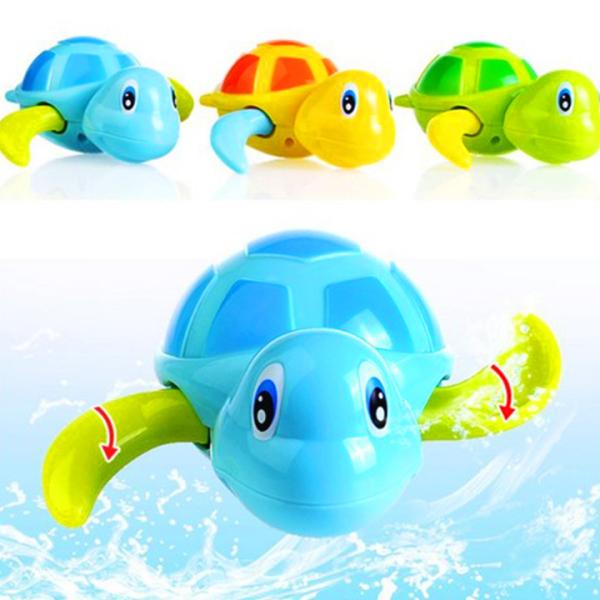 Đồ chơi nhà tắm cho bé rùa bơi vặn dây cót đáng yêu bằng nhựa nguyên sinh ABS an toàn cho bé đủ màu sắc BBShine – DC021