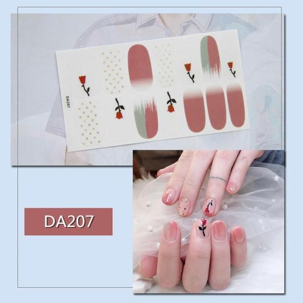 Sticker dán trang trí móng tay họa tiết dễ thương mã DA201 - DA220 giá rẻ