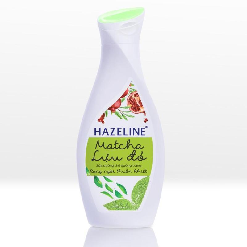 Sữa Dưỡng Thể Hazeline Matcha Lựu Đỏ nhập khẩu