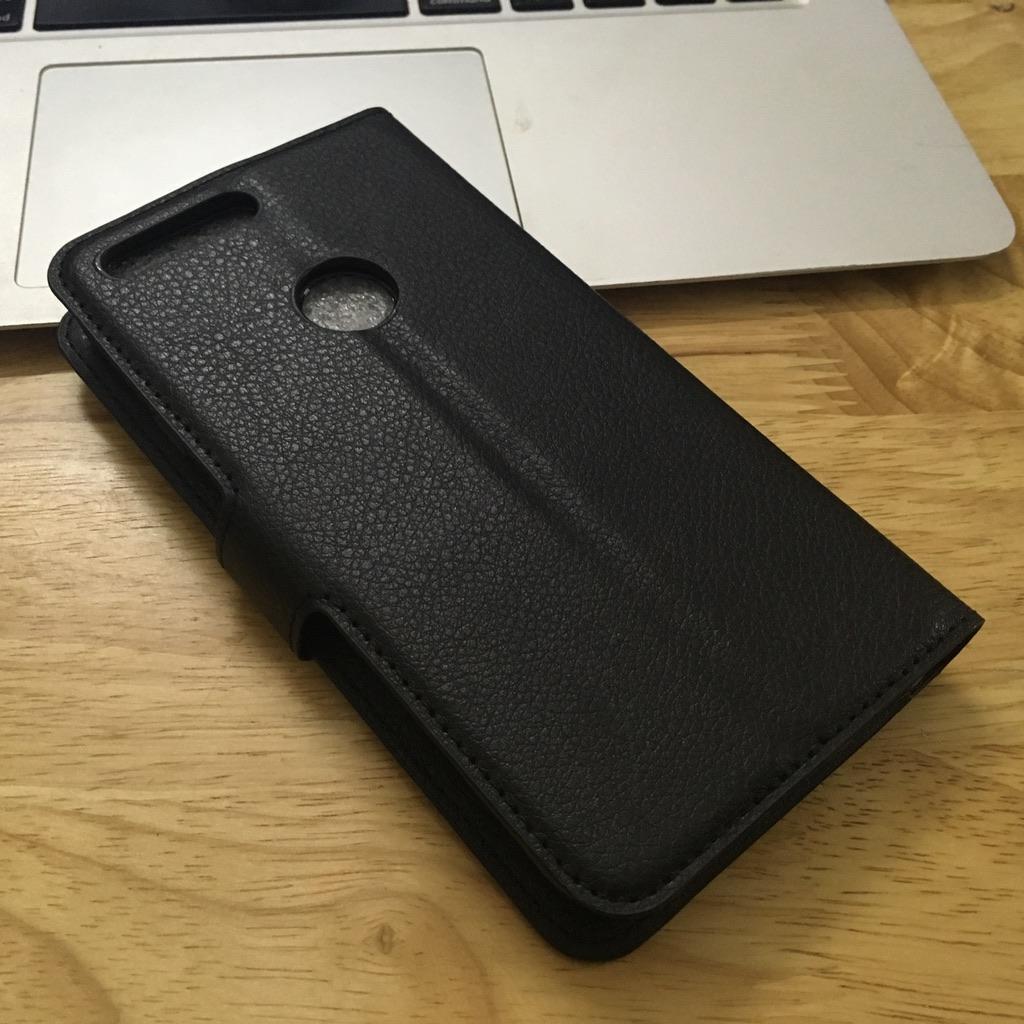 Google Pixel XL - Bao da bảo vệ điện thoại chất liệu PU có ví