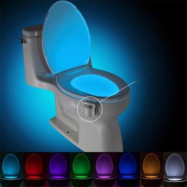 Đèn led tự động sáng nhà vệ sinh thông minh sử dụng công nghệ cảm biến hoạt động