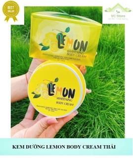 Kem Dưỡng Body Lemon Cream Thái Lan - Mẫu mới thumbnail