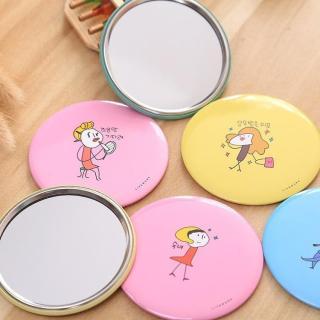 Gương Mini Hàn Quốc, Gương Trang Điểm Bỏ Túi Mini Nhiều Mẫu (Mẫu Ngẫu Nhiên) thumbnail