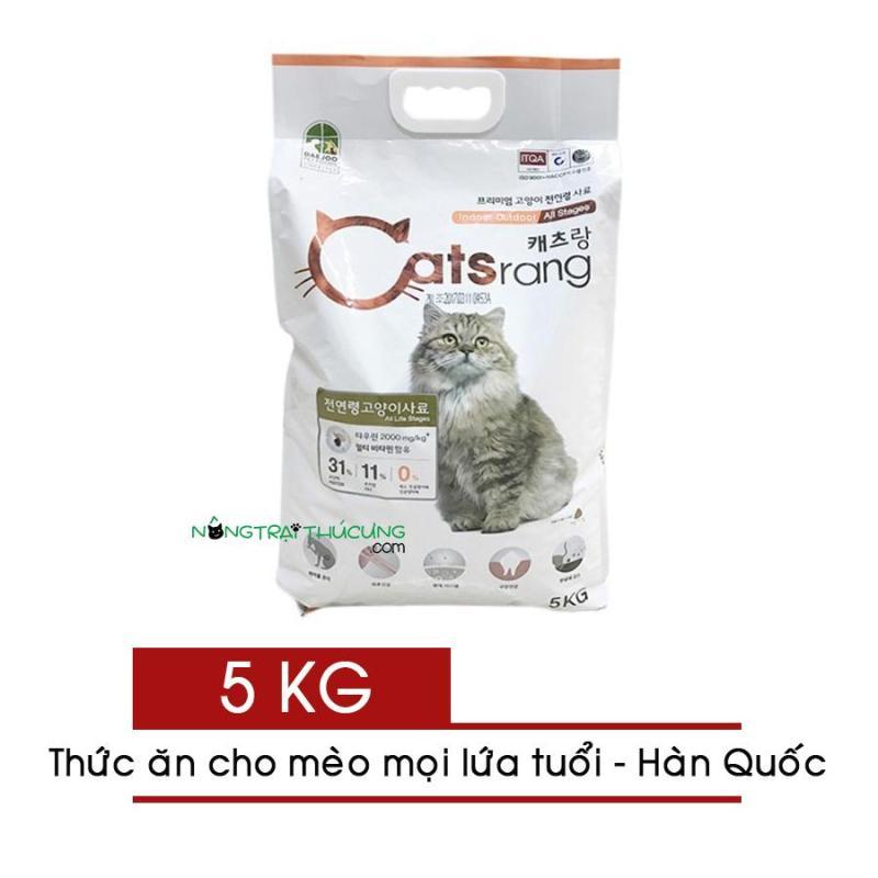 Thức ăn hạt CATSRANG Hàn Quốc cho mèo 5kg - [Nông Trại Thú Cưng]