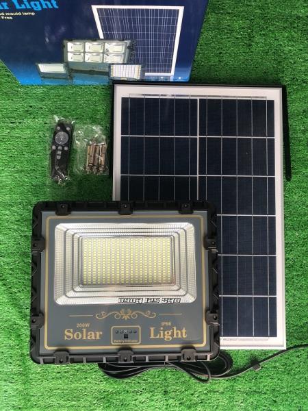 [Hàng chính hãng] Đèn Năng Lượng Mặt Trời 200w Cảm Biến Ánh Sáng TOP SOLAR SL812KKL