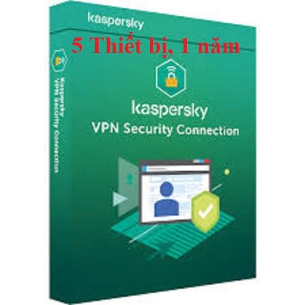 Bảng giá [CHÍNH HÃNG] KASPERSKY CONNECTION SECURITY (VPN), 05 THIẾT BỊ, 01 NĂM, BH 12 THÁNG Phong Vũ
