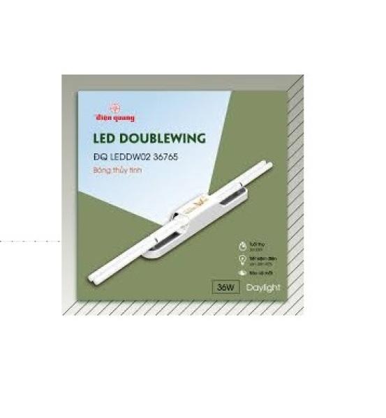 Bộ Đèn Led Doublewing Điện Quang 36W (BÓNG THỦY TINH) (ĐQ LEDDW02 36765)