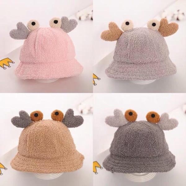 Giá bán Mũ lông cừu hình con cua cho bé siêu xinh(2-5 tuổi)