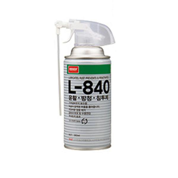 Chai xịt bôi trơn và chống gỉ sét chống ăn mòn L-840 NABAKEM 360ml bảo dưỡng dùng cho bản lề, kim loại, Tháo bu lông, đai ốc cố định