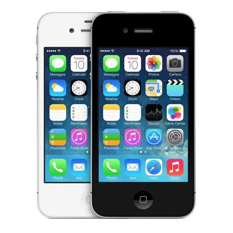 Điện thoại smart phone giá rẻ iPhone4S- 8GB phiên bản quốc tế - Everything store 1983 - Bao đổi trả (Màu ngẫu nhiên trắng/đen) - Tặng cáp sạc