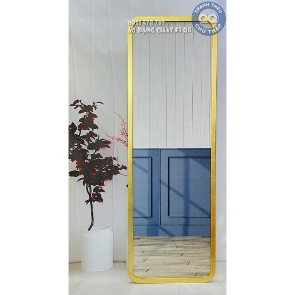 60x160cm Gương soi toàn thân CÓ CHÂN BK Gương treo tường