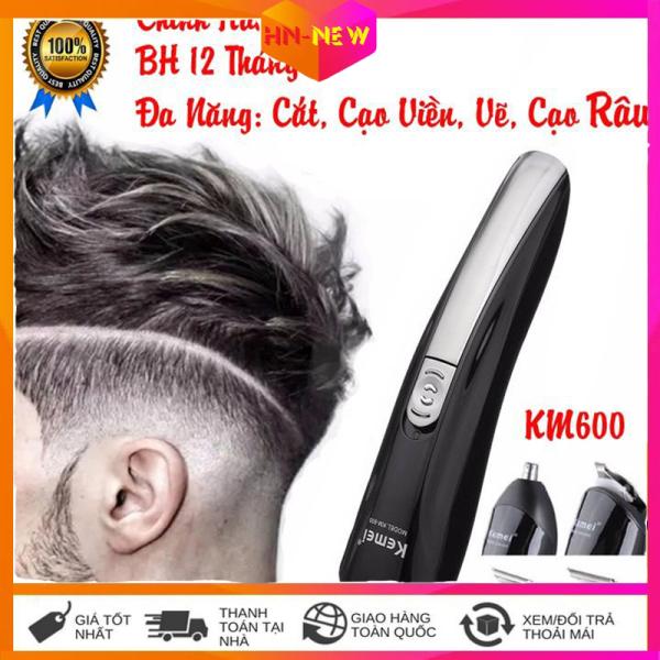 Tông Đơ Cắt Tóc Hàn Quốc, Tông đơ cắt tóc đa năng 10 trong 1 KEMEI 600 - Bộ dụng cụ đa dụng tiện lợi , Bảo hành 2 năm toàn quốc