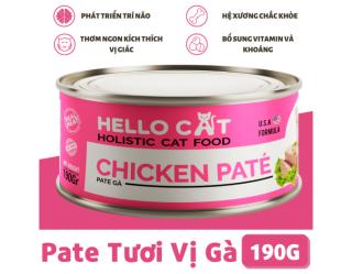 Pa tê cho mèo vị thịt gà Hello cat chicken pate 190g thumbnail