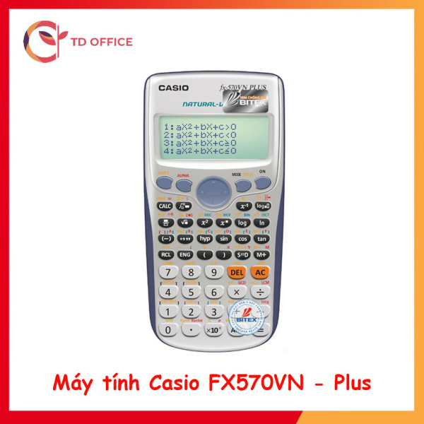 Mua (lỗi 1 đổi 1) Máy tính học sinh Fx570Vn Plus Mới nhất- Bảo hành 24 tháng