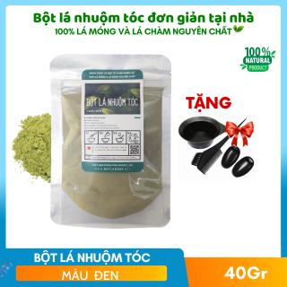 Nhuộm Tóc Thảo Dược OGATIC- Chiết xuất từ bột lá cây- Màu Đen tự nhiên thumbnail
