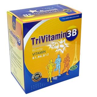 Vitamin 3B tổng hợp Đại Uy - TriVitamin 3B (Hộp 100 viên nang mềm) HSD 2023 thumbnail